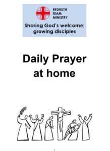 Daily Prayer at home booklet