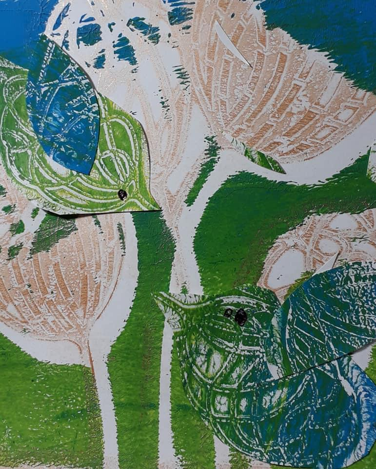 abstract dandelions1)